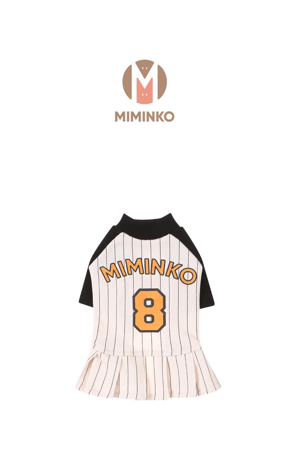 미밍코(MIMINKO) 베이스볼 원피스 IV[DW8WO2620_03]